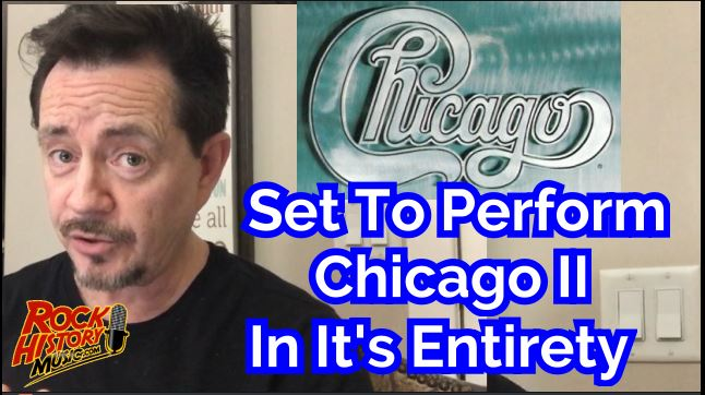 Chicago set to perform classic album chicago ii in its for Chicago house music classics