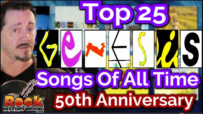 Top 25 genesis songs of all time picked by fans 50th for Greatest house tracks of all time